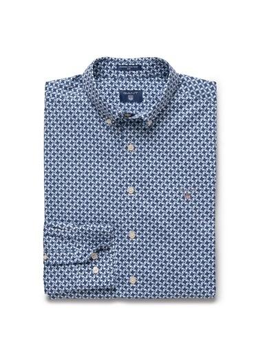 Gant Slim Gömlek Mavi